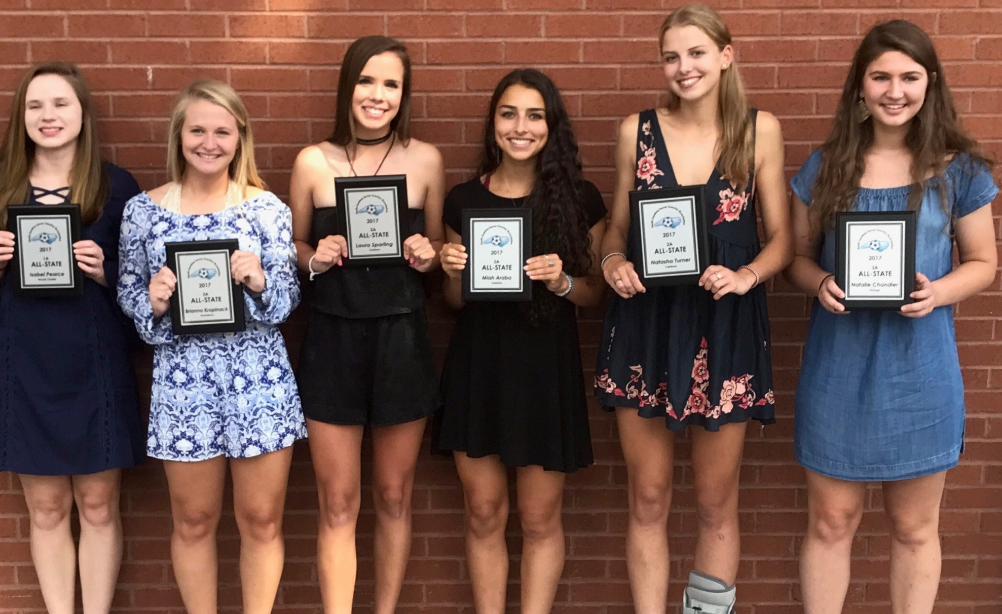 98G Gold Receive NCHSA All State Awards