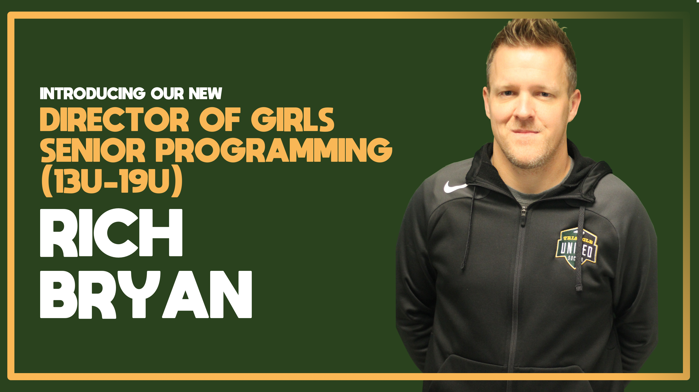 New Director of Girls Senior Programming